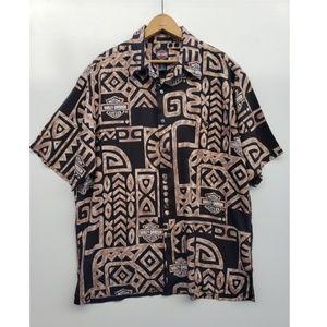Harley Davidson Tori Richard Hawaiian shirt LRG